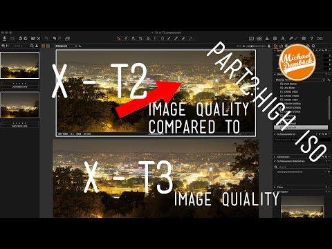 HIGH ISO CHECK Fuji X-T3 vs  X-T2 (JPG)