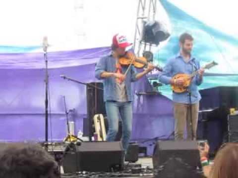 "Christian Sedelmyer & David Goldenberg ""Greensleeves"" Pickathon 2013"