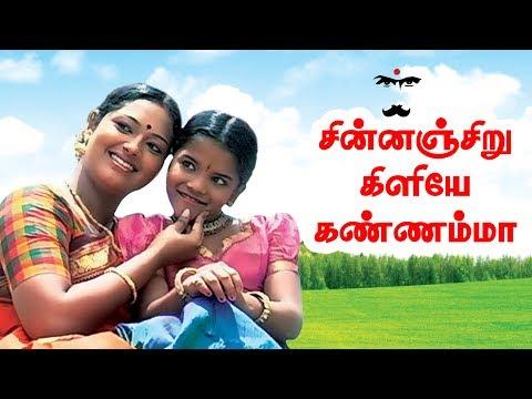 சின்னஞ்சிறு கிளியே கண்ணம்மா... | Chinnanchiru | Bharathiyar Padalgal | Tamil Nursery Rhymes