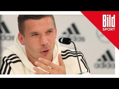 Lukas Podolski: Geile Sprüche-Show & Ärger über Maskottchen-Vergleich