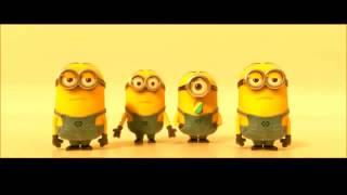 Minions Banana Song on desert