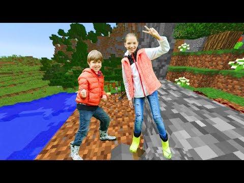 Майнкрафт для новичков - Обзор Эндер Мира. Секреты Minecraft.