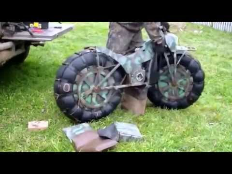 tarus 2m military russian motorcycle youtube