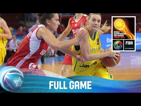 Australia v Belarus- Full Game - Group C - 2014 FIBA World Championship for Women