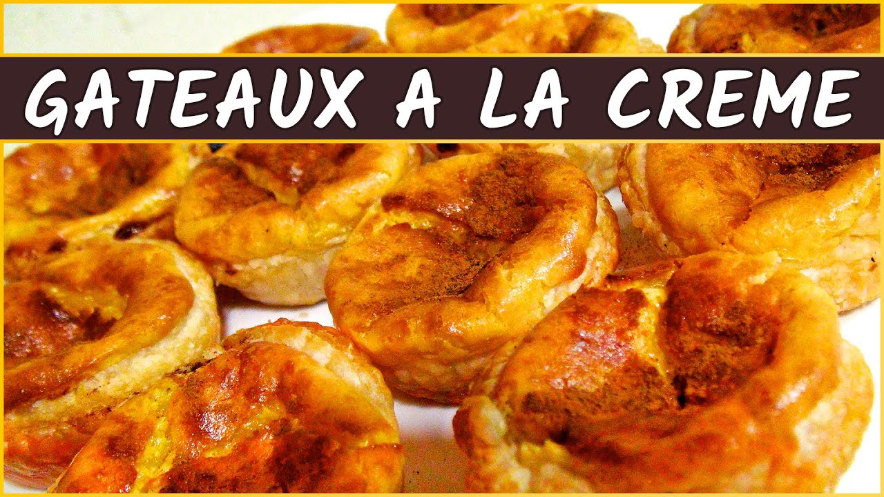 recette des g teaux la cr me portugais pasteis de nata youtube. Black Bedroom Furniture Sets. Home Design Ideas