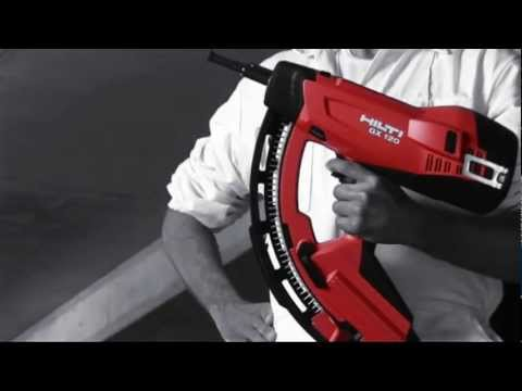 hilti gas system gx 120 youtube. Black Bedroom Furniture Sets. Home Design Ideas