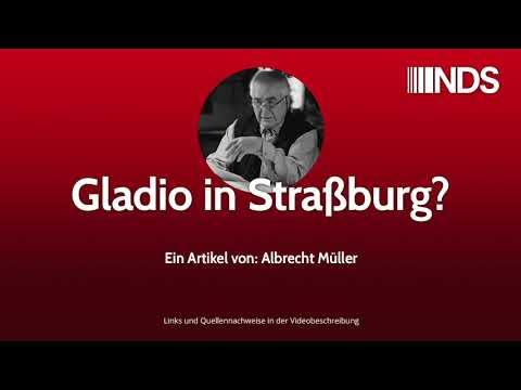 Gladio in Straßburg? | Albrecht Müller | NachDenkSeiten-Podcast
