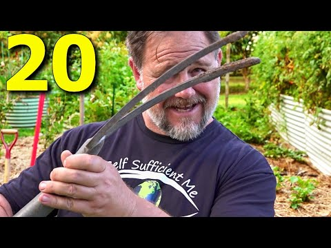 20 BEST Garden Tools I ALWAYS Use (Non Powered)