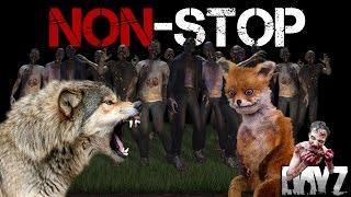 Non-Stop DayZ. #3 Волк, Лиса, Тоннель и Зомби. Трейлер.