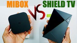 NVIDIA Shield TV vs XIAOMI MI BOX S: True Comparison ! 4K HDR Android TV - Watch Now !
