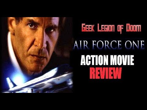 Air Force One 1997 Harrison Ford Action Movie Review