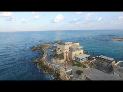 Caesarea National Park Old City - Phantom 3
