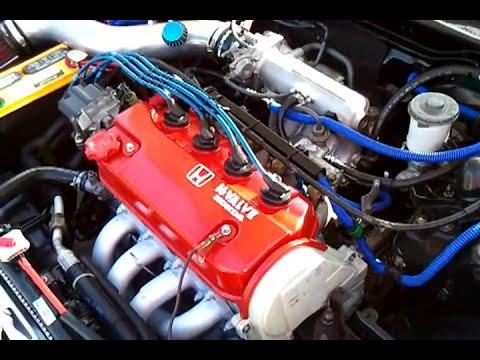 My EF civic si hatchback single cam ZC 5 speed