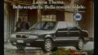 Lancia thema commercial spot