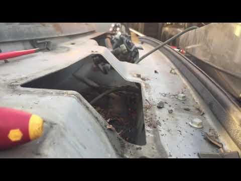 Hummer H2 water leak repair