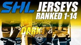 SHL Jerseys Ranked 1-14 (Dark)