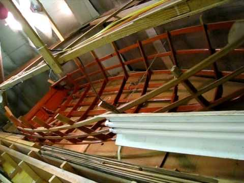 Chris Craft Kit Boat Frame Wooden Boat Restoration