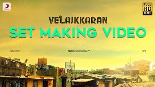Velaikkaran Set Making | Sivakarthikeyan, Nayanthara l Mohan Raja