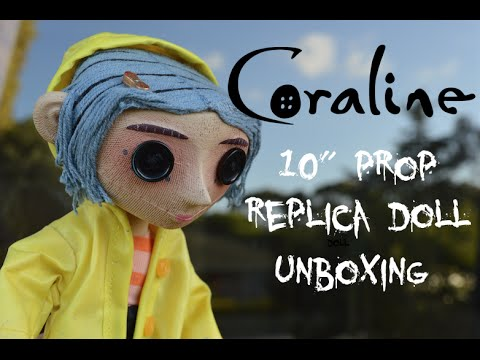 Coraline Prop Replica Doll Unboxing Youtube