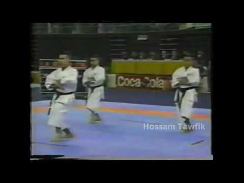 WKF Granada Spain 92' - KARATE - EGYPT - Hossam Ta...
