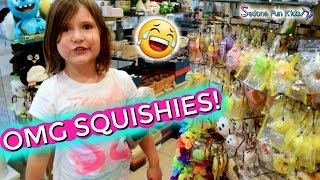 OMG!?! Squishies! Tokyo World ~ Shopping Mall Vlog | Sedona Fun Kids TV