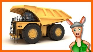 Mining Dump Truck: Trucks For Children. Kids Videos. Preschool & Kindergarten Learning.