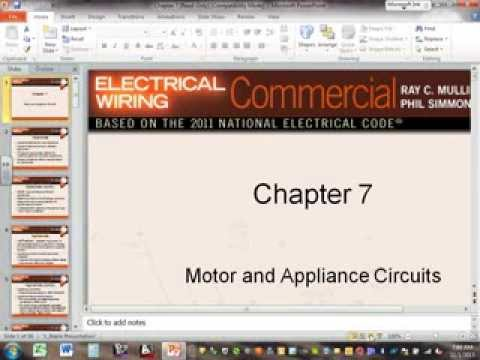 Motors & Appliances Circuits Ch#7 11 1 13