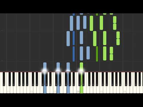 Synthesia - The Bells of Notre Dame (Hunchback of Notre Dame) [PIANO TUTORIAL + SHEET MUSIC]