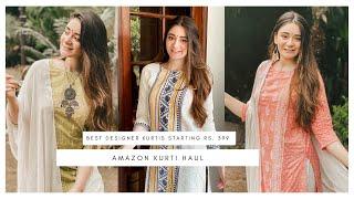 AMAZON Designer Kurti Haul Online Designer Kurtis Amazon Kurti Haul Online Kurti Shopping Haul