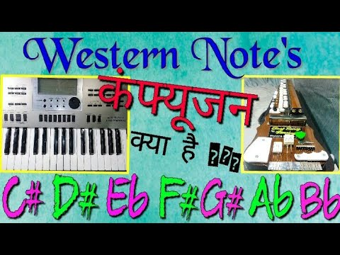 Western notes का confusion क्या है ? Western music tutorial in Hindi by BANJO TEACHER Jitu . thumbnail