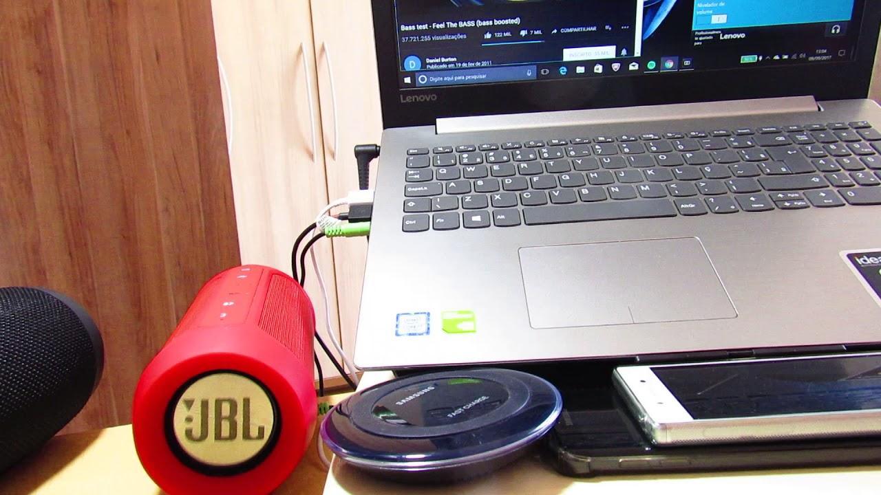 Lenovo Ideapad 320 teste do DOLBY Audio Digital Incorporado.