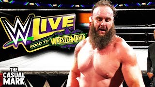 INSANE WWE LIVE VLOG (WWE Live Road To Wrestlemania March 25, 2018 | KeyBank Center Buffalo, NY)
