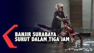 Banjir Surabaya Surut Dalam Waktu 3 Jam