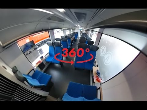 360 Video: Alstom Zero-Emission Train Coradia iLint