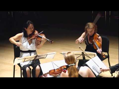 Modern Music » Lerdahl, String Quartet No. 2 » Daedalus Quartet