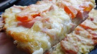 Самое Вкусное ТЕСТО для ПИЦЦЫ /Тончайшее тесто для пиццы!