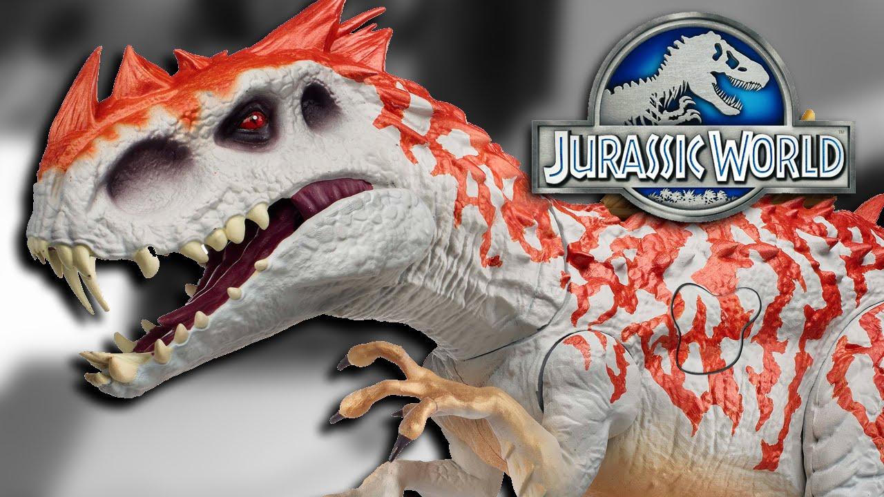 NEW Indominus Rex HYBRID TOY!