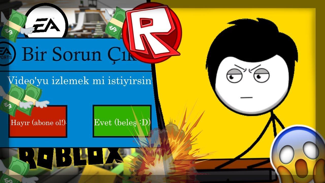 ROBLOX EA YAPSAYDI? - (animasyon)
