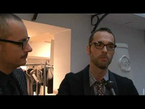 Exclusive interviews with Viktor Horsting and Rolf Snoeren about their new menswear collection