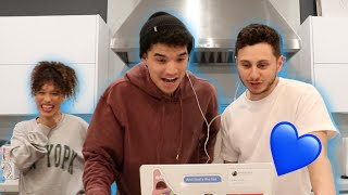 BEST FRIENDS REACT TO MY NEW MUSIC VIDEO! (DROPPING WED FEB 19!)