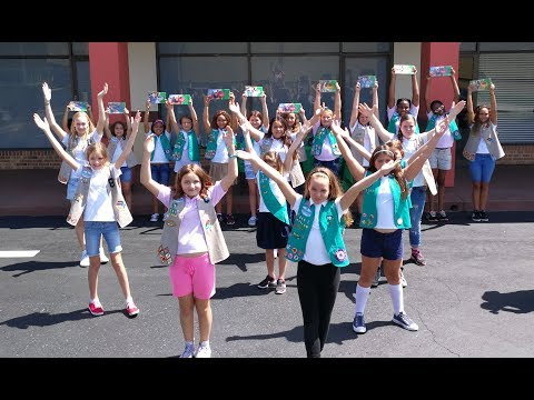 My Favorite Things - Girl Scouts promoting their favorite Fall Products!