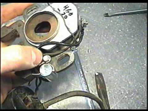 Removing the Coil, Points & Condenser from Magneto on older Tecumseh Engines