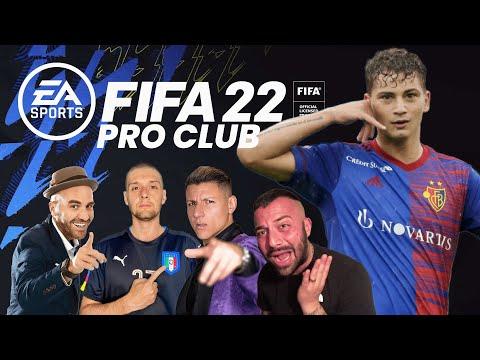 FIFA 22 PRO CLUB #2 - IL PRIMO TITOLO!!