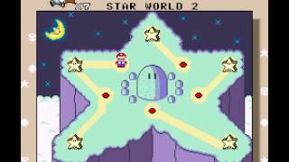Super Mario All-Stars + Super Mario World - Super Mario All-Stars  Super Mario World Star Road (SNES) - User video
