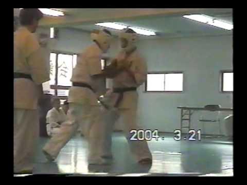 極真会館 樋口恵士 20人組手 (kyokushin Satoshi Higuchi 20-man Kumite) 滋賀空手