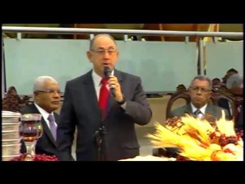 Pastor Paulo Roberto Freire da Costa - Ceia do Senhor - Sede Assembléia de Deus Belém Campinas