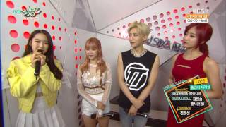 150508 hyoseong hyunseung elsie eunjung interview music bank
