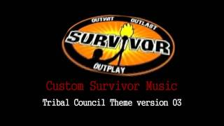 Survivor Custom Music - Tribal Council Theme ( Modern Advanced Version )