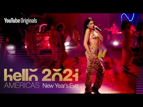 Dua Lipa performs �€�Levitating�€� | Hello 2021: Americas