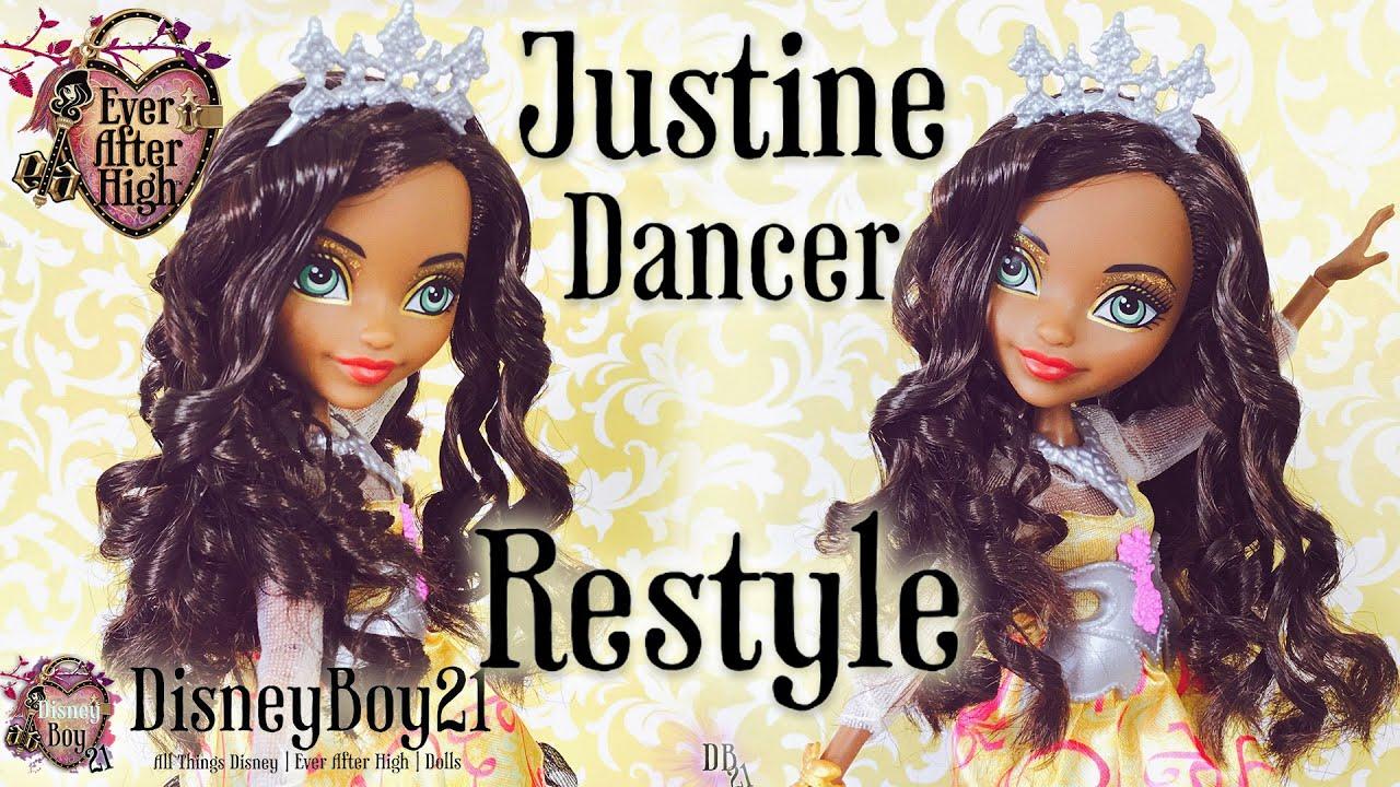 high justine dancer
